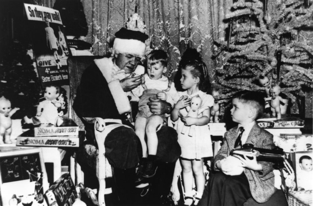 A Santa Story from the Babe
